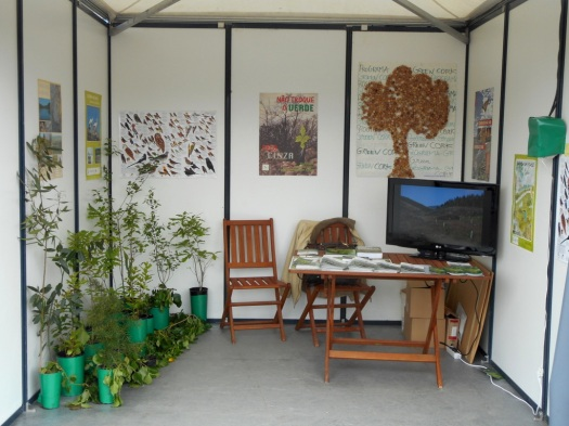 Stand da Quercus na Expoflorestal