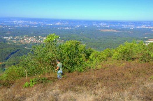 Na cabeceira do vale de S. Francisco