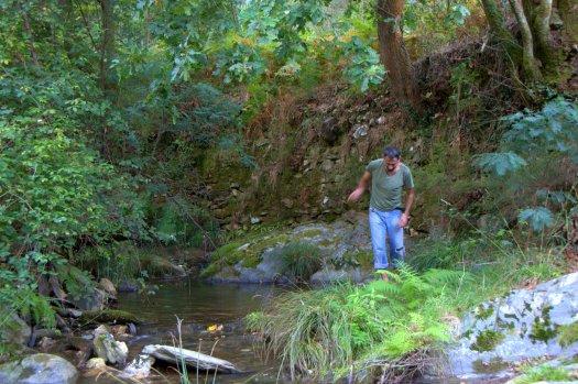 Pelo final do dia, sabia bem uma visita ao ribeiro